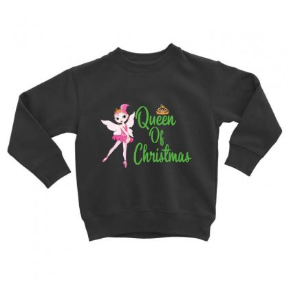 Ballet Queen Of Christmas Toddler Sweatshirt Designed By Hoainv