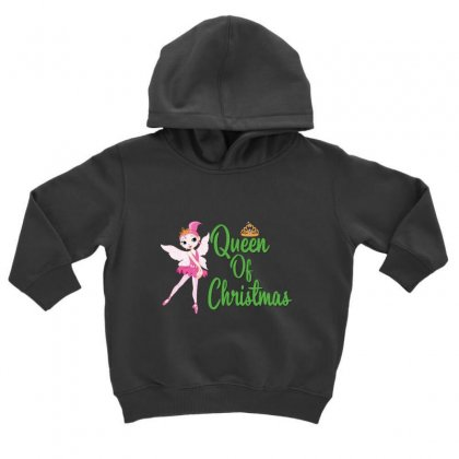 Ballet Queen Of Christmas Toddler Hoodie Designed By Hoainv