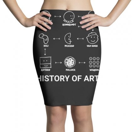 History Of Art Funny Pencil Skirts Designed By Teeshop
