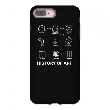 History Of Art Funny Iphone 8 Plus Case Designed By Teeshop