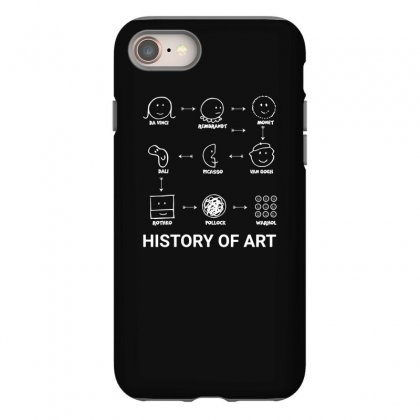 History Of Art Funny Iphone 8 Case Designed By Teeshop