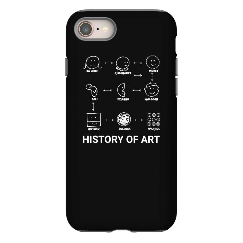 History Of Art Funny Iphone 8 Case | Artistshot