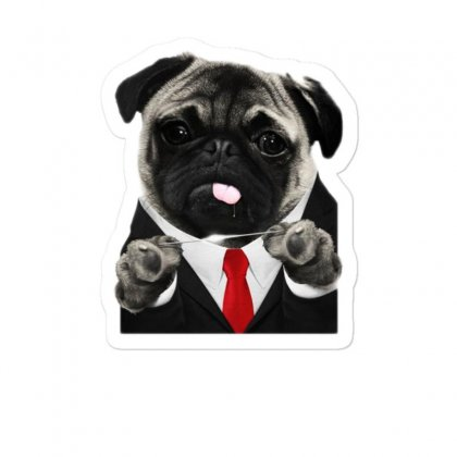 Hit Pug Sticker Designed By Teeshop