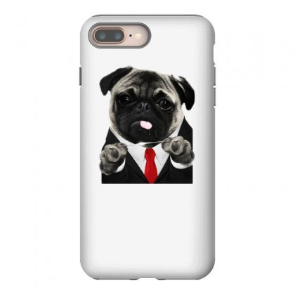 Hit Pug Iphone 8 Plus Case Designed By Teeshop