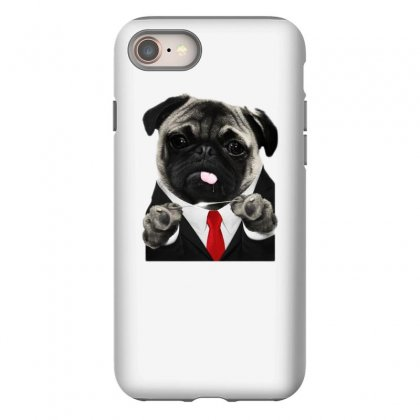 Hit Pug Iphone 8 Case Designed By Teeshop