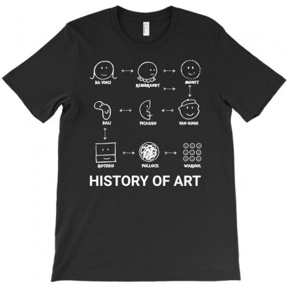 History Of Art Funny T-shirt Designed By Teeshop