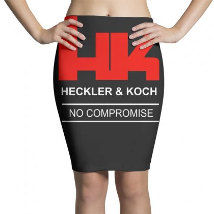 Hk Heckler And Koch Firearms Sniper Rifle Pencil Skirts Designed By Teeshop