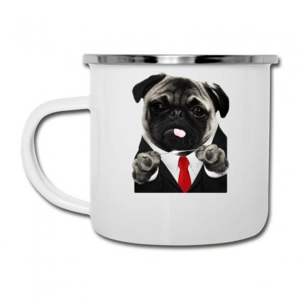 Hit Pug Camper Cup Designed By Teeshop