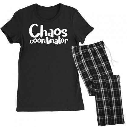 Chaos Coordinator Funny Saying Women's Pajamas Set Designed By Dinugraha