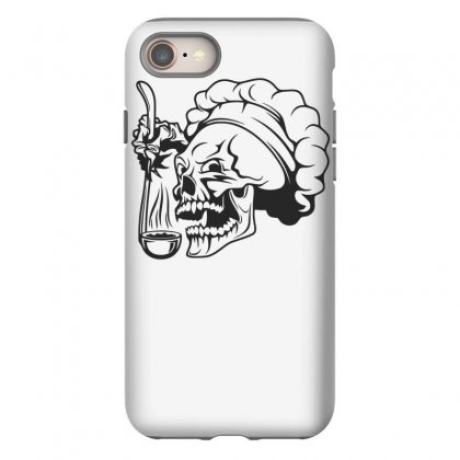 Chef Skull T Shirt Iphone 8 Case Designed By Dinugraha