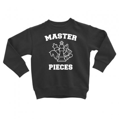 Chess Pieces Toddler Sweatshirt Designed By Dinugraha