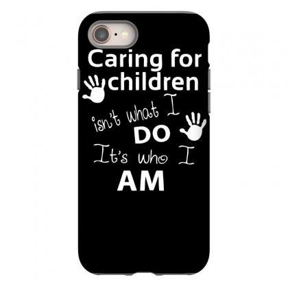 Children Care Iphone 8 Case Designed By Dinugraha