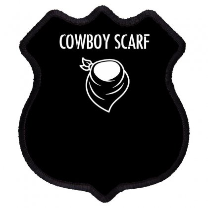 Cowboy Scarf Shield Patch Designed By Dinugraha