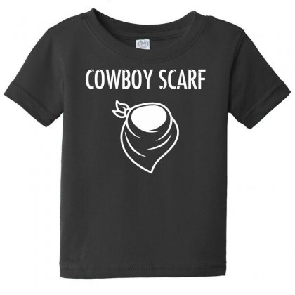 Cowboy Scarf Baby Tee Designed By Dinugraha