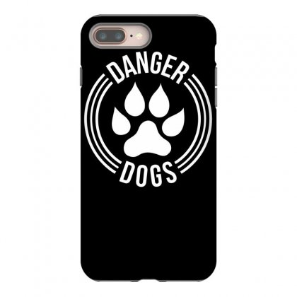 Danger Dogs Iphone 8 Plus Case Designed By Dinugraha