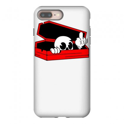 Died Skull Box Funny Iphone 8 Plus Case Designed By Dinugraha