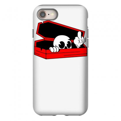 Died Skull Box Funny Iphone 8 Case Designed By Dinugraha