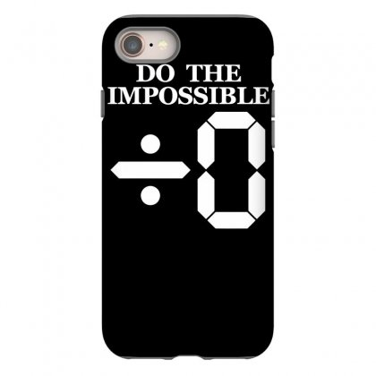 Divide By Zero Iphone 8 Case Designed By Dinugraha
