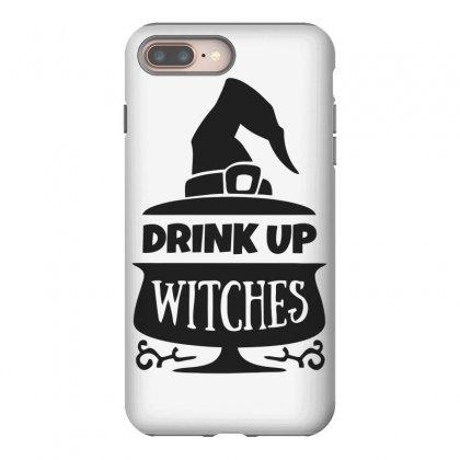 Drink Up Witches Iphone 8 Plus Case Designed By Dinugraha
