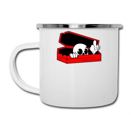 Died Skull Box Funny Camper Cup Designed By Dinugraha