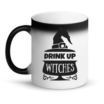 Drink Up Witches Magic Mug Designed By Dinugraha