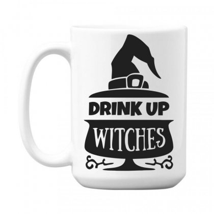 Drink Up Witches 15 Oz Coffe Mug Designed By Dinugraha