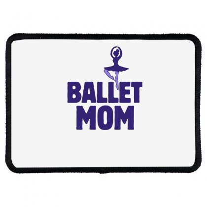 Ballet Mom Rectangle Patch Designed By Hoainv