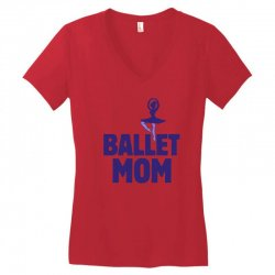 ballet mom Women's V-Neck T-Shirt | Artistshot