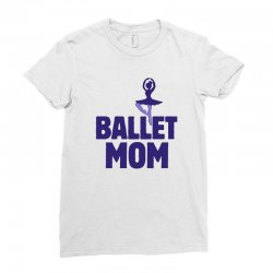 ballet mom Ladies Fitted T-Shirt | Artistshot