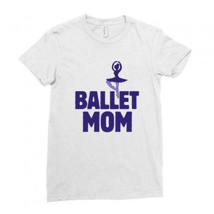 Ballet Mom Ladies Fitted T-shirt Designed By Hoainv