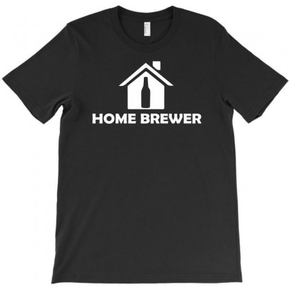 Home Brewer T-shirt Designed By Teeshop