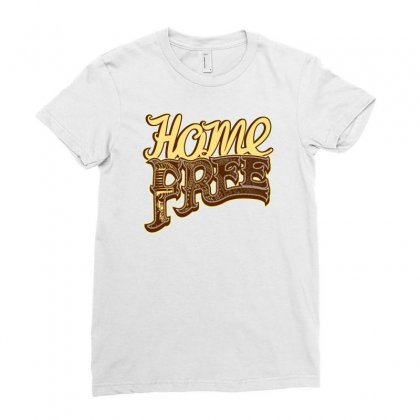 Home Free Vocal Band A Capella Country Group Ladies Fitted T-shirt Designed By Teeshop