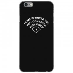 home is where the wifi connects automatically iPhone 6/6s Case   Artistshot