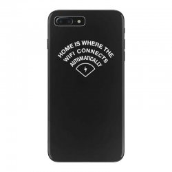 home is where the wifi connects automatically iPhone 7 Plus Case   Artistshot