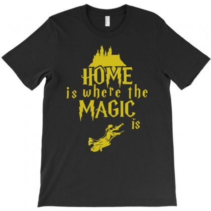 Home Is Where The Magic Is T-shirt Designed By Teeshop