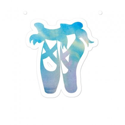 Ballet Watercolor Ballerina Dance Pointe Shoes Sticker Designed By Hoainv