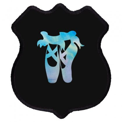Ballet Watercolor Ballerina Dance Pointe Shoes Shield Patch Designed By Hoainv