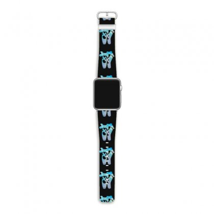 Ballet Watercolor Ballerina Dance Pointe Shoes Apple Watch Band Designed By Hoainv