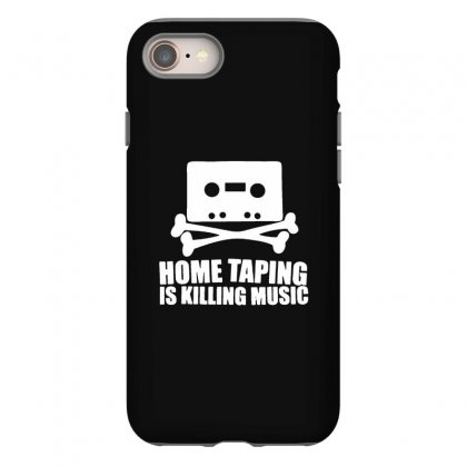 Home Taping Is Killing Music Iphone 8 Case Designed By Teeshop