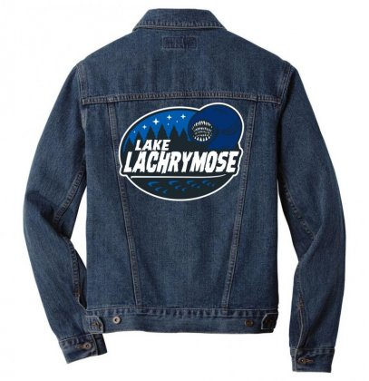 Home Of The Lachrymose Leeches Men Denim Jacket Designed By Teeshop