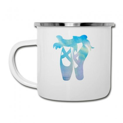Ballet Watercolor Ballerina Dance Pointe Shoes Camper Cup Designed By Hoainv