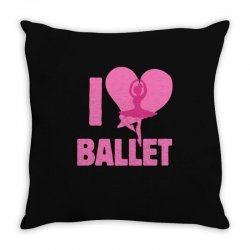 ballet Throw Pillow | Artistshot