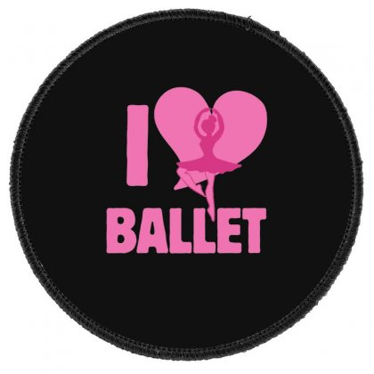 Ballet Round Patch Designed By Hoainv
