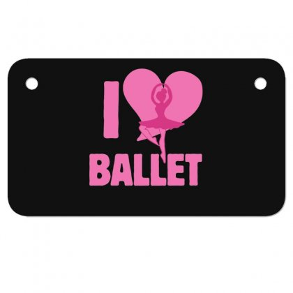 Ballet Motorcycle License Plate Designed By Hoainv