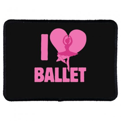 Ballet Rectangle Patch Designed By Hoainv