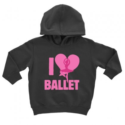 Ballet Toddler Hoodie Designed By Hoainv