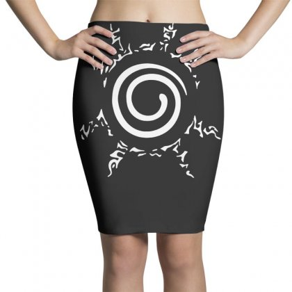 Homme Blood Youth Uzumaki Naruto Pencil Skirts Designed By Teeshop
