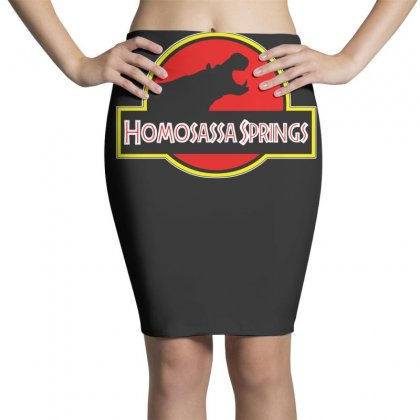 Homosassa Springs Pencil Skirts Designed By Teeshop