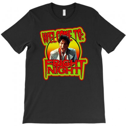 Horror Classic Fright Night T-shirt Designed By Teeshop