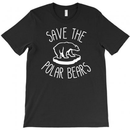 Save The Polar Bears T-shirt Designed By Dinugraha